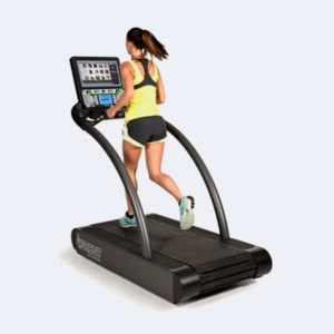 cinta correr woodway 4front con tv